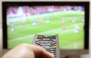 サッカーテレビ放送
