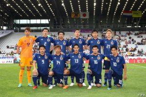 日本代表パラグアイ戦