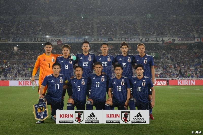 日本代表ガーナ戦